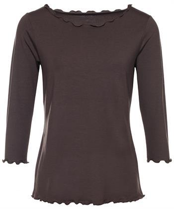 BeOne Essentials Shirt mit Rüschenrand