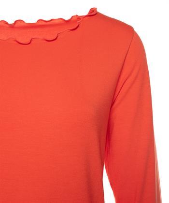 BeOne Essentials Shirt Rüschenrand
