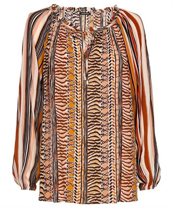 Caroline Biss blouse etnische print