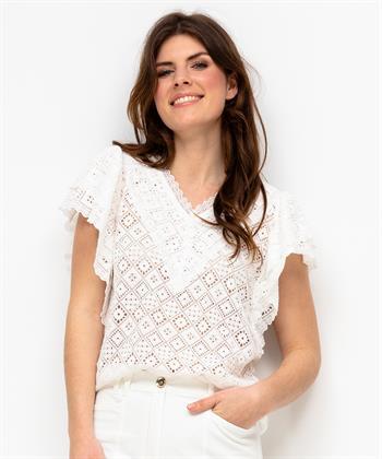 Caroline Biss kanten blouse