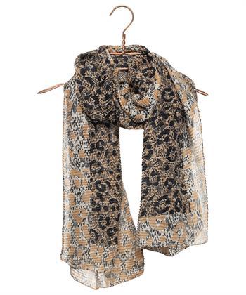 Codello plissé sjaal dierprint