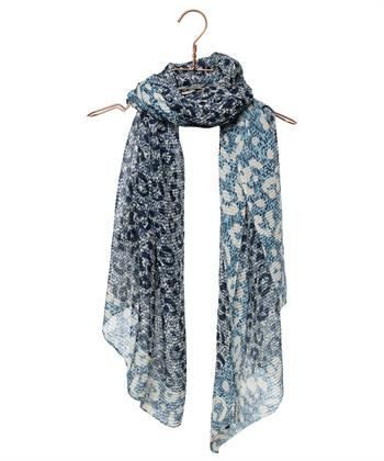 Codello sjaal plissé dierprint