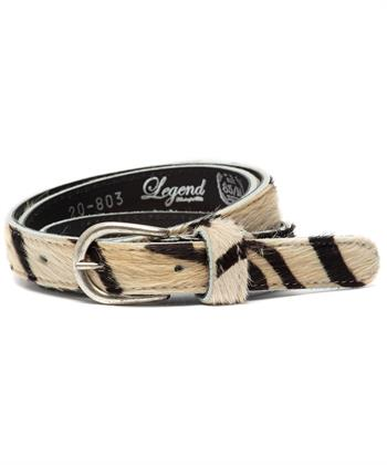 Legend riem zebra