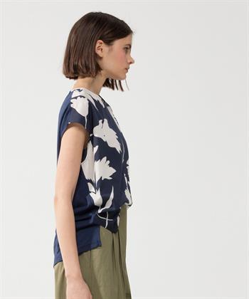 Luisa Cerano blouse bloemprint