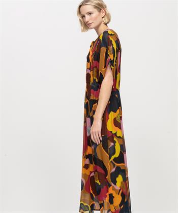 Luisa Cerano Kleid mit Blumenmotivdruck