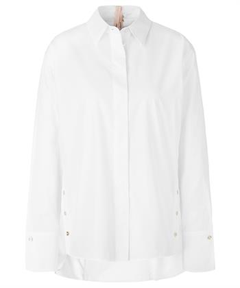 Marc Cain blouse knoopdetails