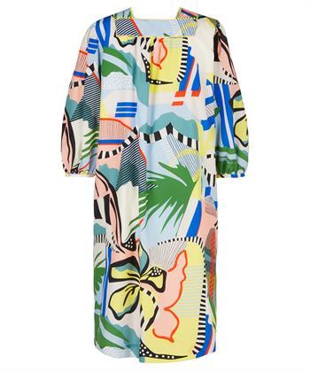 Marc Cain jurk grafische kleurenprint