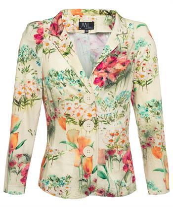ML Collections blazer bloemprint