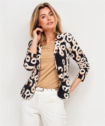 ML Collections blazer grote cirkels