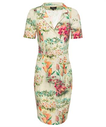 ML Collections jurk multi bloemprint