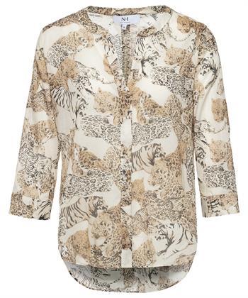 Nadine H. blouse met dierprint