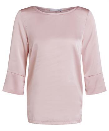 Oui glänzende Bluse / Hemd