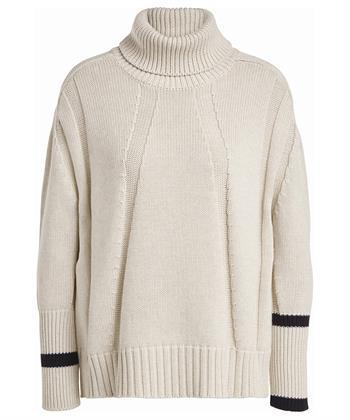 Oui Pullover Baumwolle