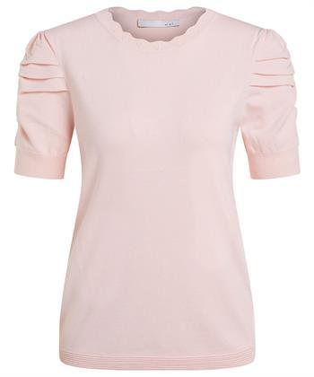 Oui Shirt kurze Puffärmel