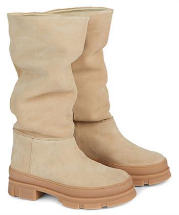 Summum beige suède laarzen