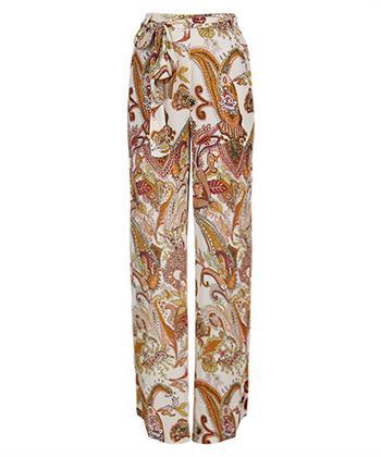 Summum broek met paisley-print
