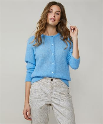 Summum Cardigan Alpaka Baby Blue