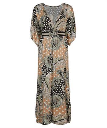 Summum maxi-jurk met paisley-print