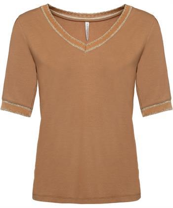 Summum T-Shirt anmutiger V-Ausschnitt