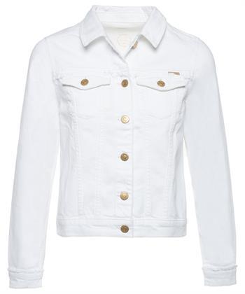 Summum weiße Jeansjacke