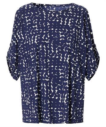 TRVL DRSS shirt print dots